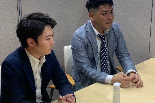 琥珀バイオテクノロジー株式会社 マネージャー 高木一駿様、二口真琴様